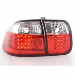 Kit feux arrières LED Honda Civic 3 portes type EJ9 / EK1 / 2/3 96-01 noir, Civic 6 96-00