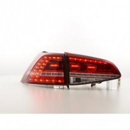 Kit feux arrières LED VW Golf 7 à partir de 2012 rouge / clair, Golf 7
