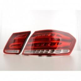 Kit feux arrière LED Mercedes Benz E-Class Limo W212 à partir de 2013 rouge / clair, Classe E W212 / W207 coupé