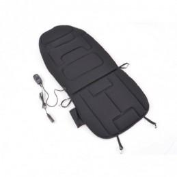 Housse de siège avec siège chauffant et fonction massage, noir, Sièges