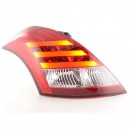 Kit feux arrières LED Suzuki Swift 2011- rouge / clair, Eclairage Suzuki