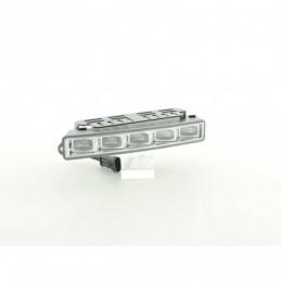 Feux de jour LED avec relais de commutation set universel chrome, Ampoules / Feux de jour