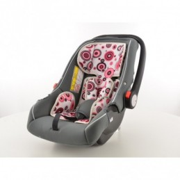 Siège auto pour enfant Siège bébé Siège auto noir / blanc / rose groupe 0+, 0-13 kg, Ceintures / Harnais