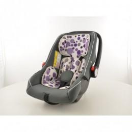 Siège auto pour enfant Siège bébé Siège auto noir / blanc / violet groupe 0+, 0-13 kg, Ceintures / Harnais
