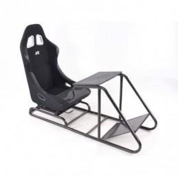 Siège de jeu FK Simulateur de course de siège de jeu eGaming Seats Estoril noir, Sièges de Simulation