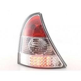 Kit feux arrières LED Renault Clio type B 01-04 chrome, Clio II 98-05