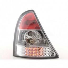 Kit feux arrières LED Renault Clio type B 98-01 chrome, Clio II 98-05