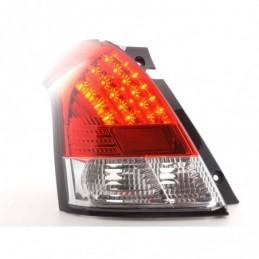 Kit feux arrières LED Suzuki Swift type MZ 05- clair / rouge, Eclairage Suzuki