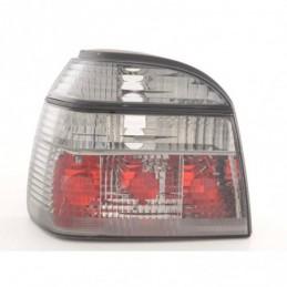 Jeu de feux arrière VW Golf 3 type 1HXO 92-97 noir, Golf 3