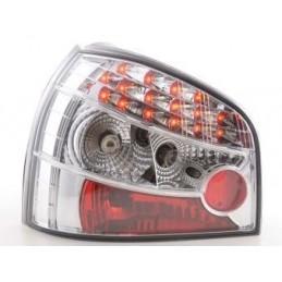 Kit feux arrières LED Audi A3 type 8L 96-02 chrome, A3 8L 96-03
