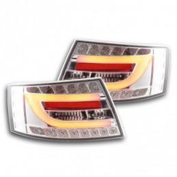 Feux arrière à LED Audi A6 Limo (4F) 04-08 chrome, A6 4F C6 04-10