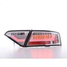 Feux arrières LED Lightbar Audi A5 8T Coupe / Sportback 07-11 chrome, A5 8T 07-16