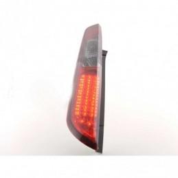 Kit feux arrières LED Ford Focus 2 5 portes 08-10 rouge / noir, Focus II 04-10