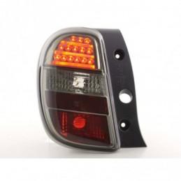 Feux arrière à LED Nissan Micra type K13 10-, noir, Eclairage Nissan