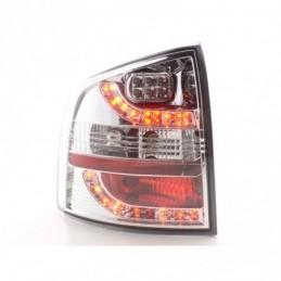 Set feux arrières LED Skoda Octavia Combi type 1Z 05-12 chrome, Octavia II 04-13