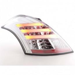 Kit feux arrières LED Suzuki Swift 2011- chrome, Eclairage Suzuki