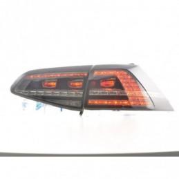 Kit feux arrières LED VW Golf 7 à partir de 2012 fumée, Golf 7