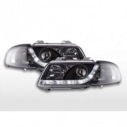 Phare Daylight LED Feux Diurnes Audi A4 B5 8D 99-01 chrome, A4 B5 94-01