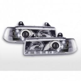 Phares Daylight LED Feux de jour LED BMW 3er E36 Coupé, Cabrio 92-99 chrome, Serie 3 E36 Coupé/Cab