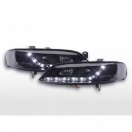 Phare Daylight LED feux de jour Opel Vectra B 99-02 noir, Vectra B