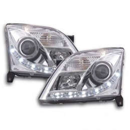 Phares Daylight LED Feux de jour LED Opel Vectra C 2002-2005 chrome, Vectra C