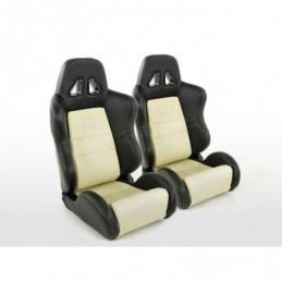 Les sièges demi-coque de voiture FK Sport Sièges donnent à Dallas un look de sport automobile, Sièges
