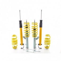 Kit combinés filetés FK suspension sport Seat Leon 5F à partir de 2012 avec jambe de force de 50 mm, essieu arrière multibras, S