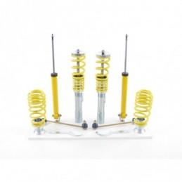 Kit combinés filetés FK suspension sport Seat Toledo 5P / 5PN 2004-2009 avec jambe de force 55mm, Seat