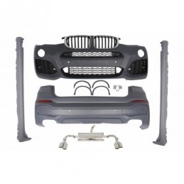 Complete Conversion Body Kit suitable for BMW F26 X4 (2014-03.2018) X4M Design, X4 F26