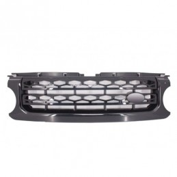 Central Grille suitable for Land Range Rover Discovery IV (2010-up) Autobiography Design All Black, Land Rover
