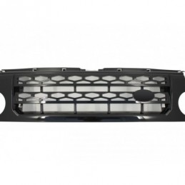 Central Grille  suitable for Land ROVER Range Rover Discovery III (2004-2009) Autobiography Design All Black, Land Rover