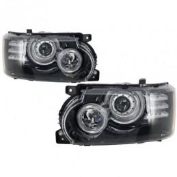 Headlights suitable for Land Range Rover Vogue L322 (2002-2009) Facelift 2010 Conversion, Eclairage Land Rover