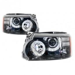 LED Headlights suitable for Range Rover Sport L320 (2009-2013) Facelift Design, Eclairage Land Rover
