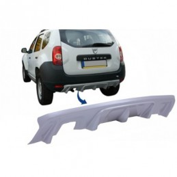 Rear Bumper Skid Plate Protection suitable for DACIA Duster 4x4 / 4x2 (2010-2017), Dacia