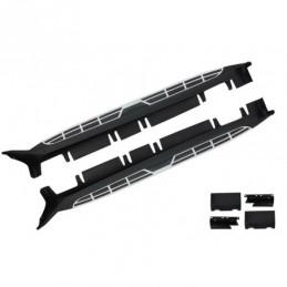 Running Boards Side Steps suitable for Hyundai IX35 Phase II (2014+) OEM Design, Hyundai