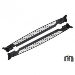 Running Boards Side Steps suitable for HYUNDAI Santa Fe 2010-2012, Hyundai