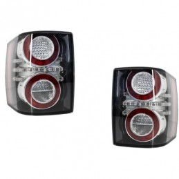 LED Taillights suitable for Land Range Rover Vogue III L322 (2002-2012) 2012 Facelift Design, Eclairage Land Rover