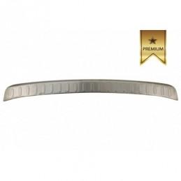 Rear Bumper Protector Sill Plate Foot Plate Aluminum Cover suitable for BMW X1 E84 nonLCI (2009-2012), X1 E84