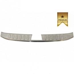Rear Bumper Protector Sill Plate INNER Foot Plate Aluminum Cover suitable for BMW X1 E84 non LCI (2009-2012), X1 E84