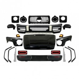 2018 G63 New Style Conversion Body Kit suitable for Mercedes G-Class W463 (2008-2017)