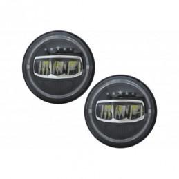7 Inch CREE LED Headlights Angel Eye Halo DRL suitable for Jeep Wrangler JK TJ LJ JL (1997-2017) 5 Stars Design, Nouveaux produi