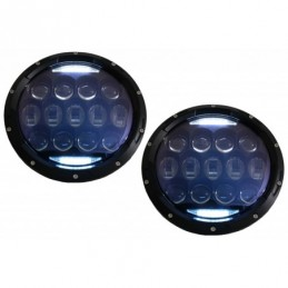 7 Inch CREE LED Headlights Amber Halo DRL suitable for Jeep Wrangler TJ & JK (1997-2018), Nouveaux produits kitt