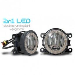 LED Feux diurnes + LED Projecteurs antibrouillard 2 in 1 - pour NISSAN PATHFINDER, Eclairage Nissan