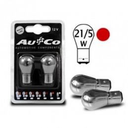 Ampoule chrome  12V 21/5W Bay15d, Ampoules / Feux de jour