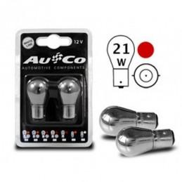 Ampoule chrome  12V 21W Ba15s, Ampoules / Feux de jour