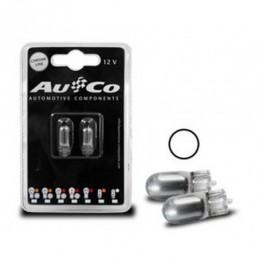 Ampoule chrome  T10 12V 5W, Ampoules / Feux de jour