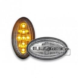 Clignotant de coté LED  Mini R50/52/53  Union Jack Design, Cooper R50/R52/R53 01-07