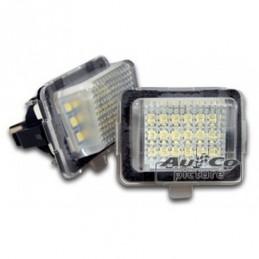 Feu de plaque à LED de AuCo pour MB Classe E (W212), Classe E W212 / W207 coupé