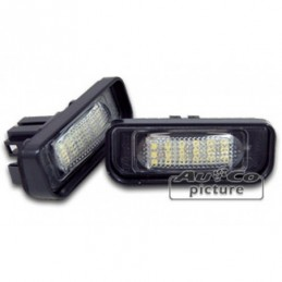 Feu de plaque à LED de AuCo pour MB Classe S (W220),  Classe S W220