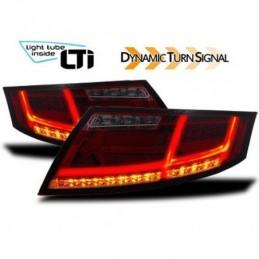 Feux arrière LTI avec blinker dynamique pour Audi TT (8J), TT 8J 06-14